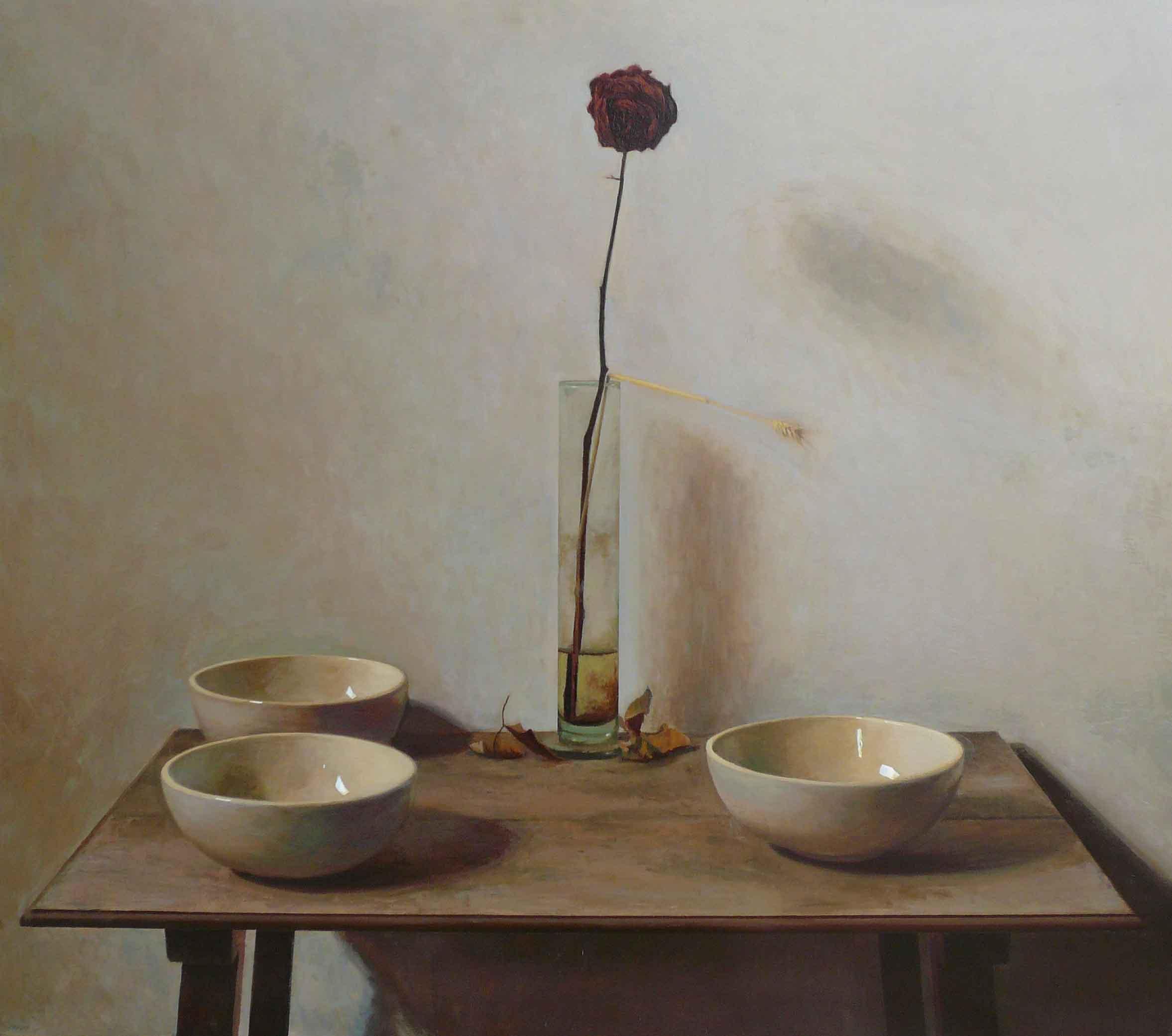 Manolo Sierra. rosa seca